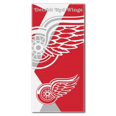 NHL Detroit Red Wings Beach Towel