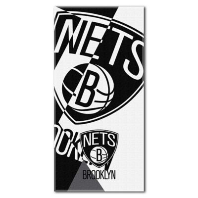 NBA Brooklyn Nets 34-Inch x 72-Inch Beach Towel