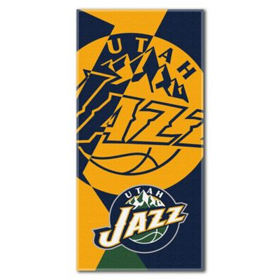 NBA Utah Jazz 34-Inch x 72-Inch Beach Towel