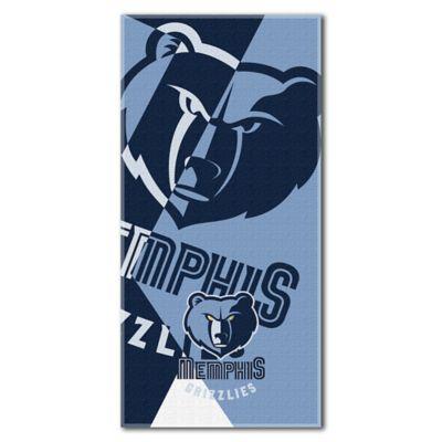 NBA Memphis Grizzlies 34-Inch x 72-Inch Beach Towel
