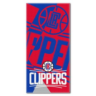 NBA Los Angeles Clippers 34-Inch x 72-Inch Beach Towel