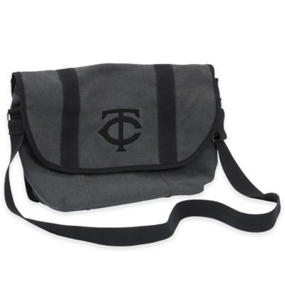 MLB Minnesota Twins Varsity Messenger Bag