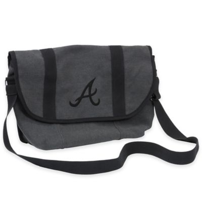 MLB Atlanta Braves Varsity Messenger Bag
