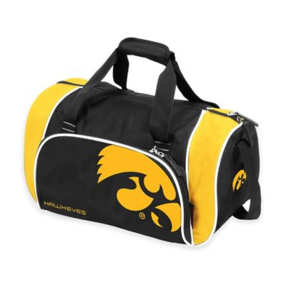 University of Iowa Locker Duffle Bag