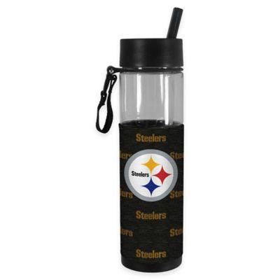 NFL Pittsburgh Steelers 24 oz. Slim Water Bottle Tumbler