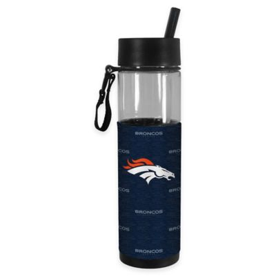 NFL Denver Broncos 24 oz. Slim Water Bottle Tumbler