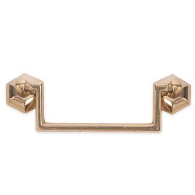 Bosetti Marella 1800 Circa Drop Handle Solid Pull in Brass