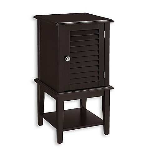 Buy Shutter Bath Cabinet In Espresso From Bed Bath Beyond