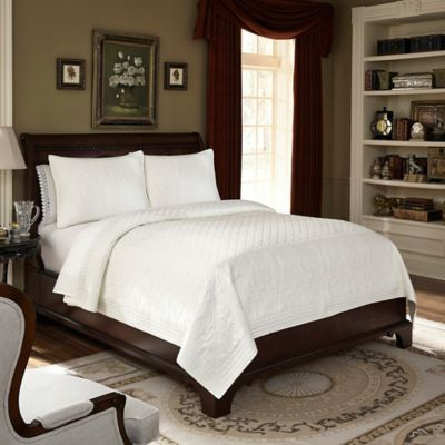 Downton Abbey® Queen Coverlet in Soft Blue
