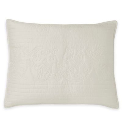 Downton Abbey® Standard Pillow Sham in Soft Blue