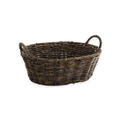 All Spice Oval Maize Basket Decorative Baskets