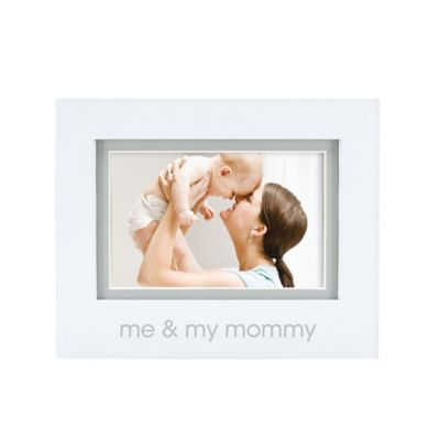 "Pearhead® ""Me and My Mommy"" 4-Inch x 6-Inch Picture Frame in White"