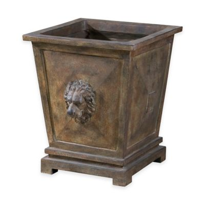 Uttermost Tobia Planter in Burnt Terracotta