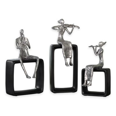 Uttermost Musical Ensemble Statues (Set of 3)