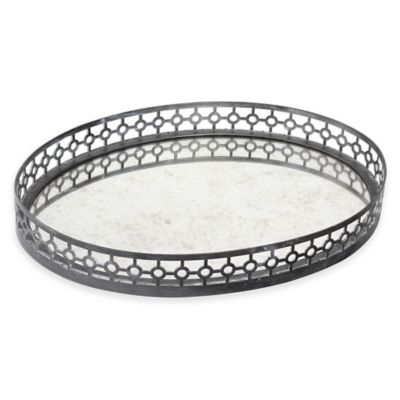 Uttermost Alessandra Tray in Oxidized Grey
