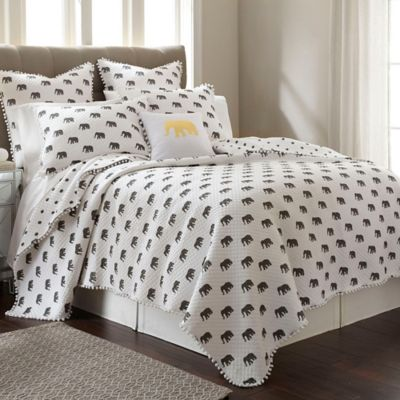 Ernest King Quilt in Grey