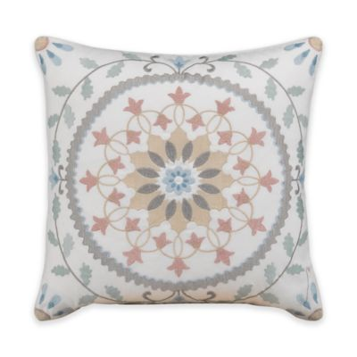 Dena™ Home Sophia Square Throw Pillow in Blue