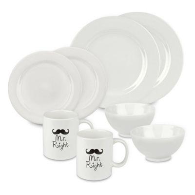 8 Piece Dinnerware Sets