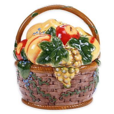 Certified International Capri Cookie Jar