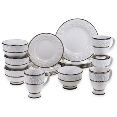 Certified International Solstice 16-Piece Dinnerware Set in Cream