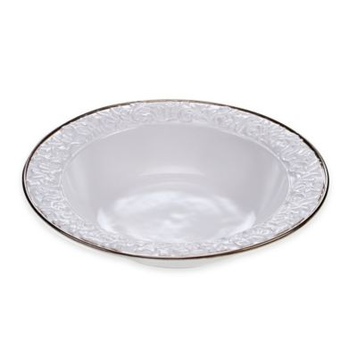 Certified International Solstice Serving Bowl in Cream