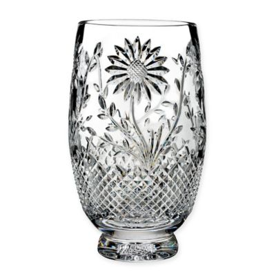House of Waterford® Flora and Fauna 10-Inch Sunflower Vase