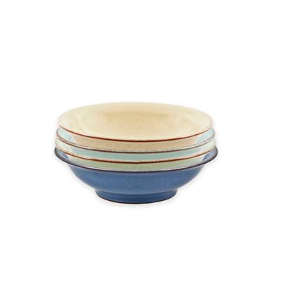 Denby Heritage Assorted Shallow Bowls (Set of 4)
