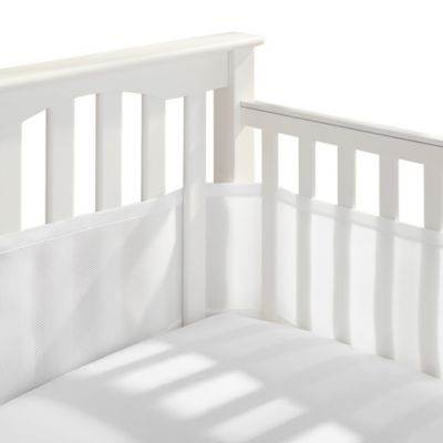 BreathableBaby® Breathable Mesh Crib Liner in White