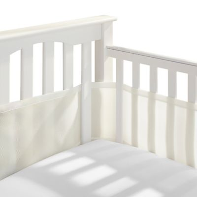 BreathableBaby® Breathable Mesh Crib Liner in Ecru
