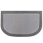 Microdry® Memory Foam 20-Inch x 32-Inch Kitchen Mat in Grey