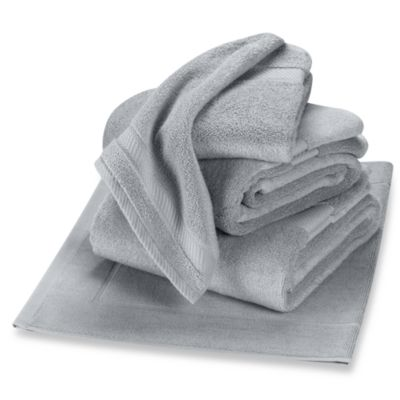 Wamsutta® Duet Hand Towel in Chrome