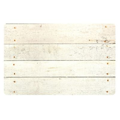 The Softer Side by Weather Guard™ 24-Inch x 40-Inch Whitewash Kitchen Mat