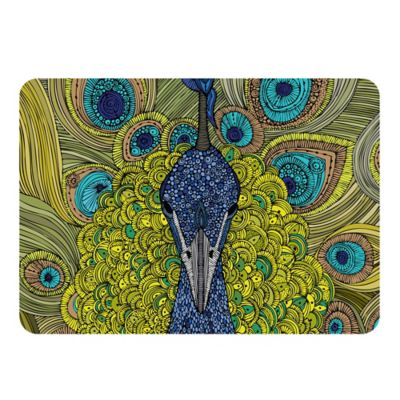 Weather Guard™ Peacock Kitchen Mat Kitchen