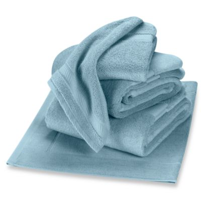 Wamsutta® Duet Washcloth in Glacier