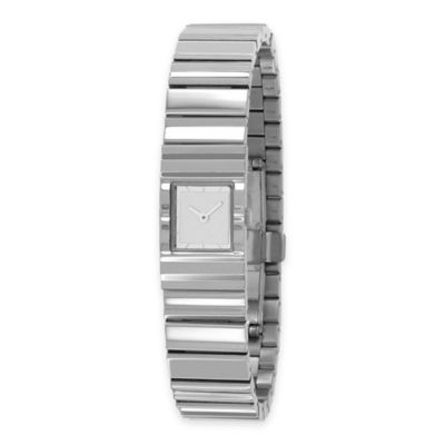 Issey Miyake Unisex 39mm V Mirrored Watch by Tokujin Yoshioka in Stainless Steel