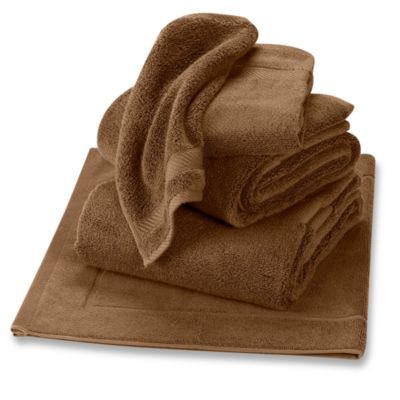 Wamsutta® Duet Hand Towel in Saddle