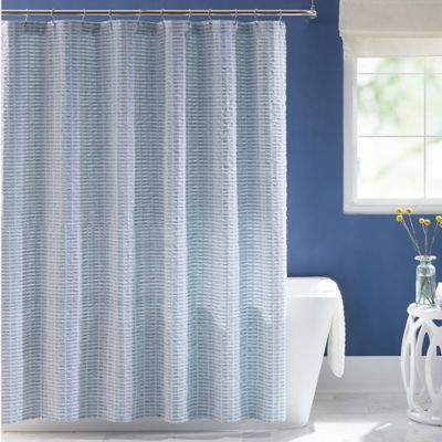 "Keeco Harris 72"" x 84"" Shower Curtain"
