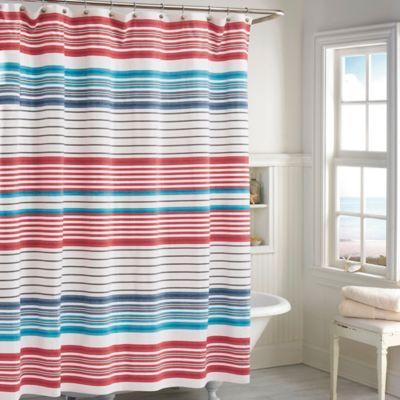 Beacon Stripe Bath Shower Curtain
