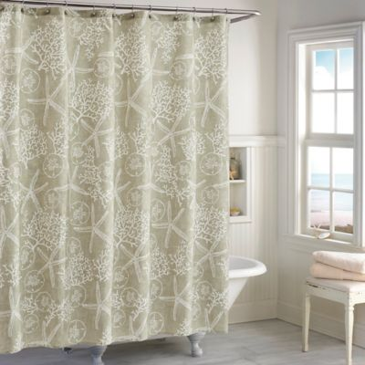 Sandy Bay Shower Curtain