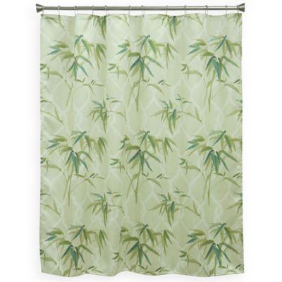 Bamboo Bathroom Curtains