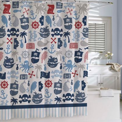 Buy nautical shower curtains from bed bath amp beyond