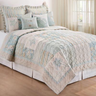 Sandbridge Twin Quilt in Blue