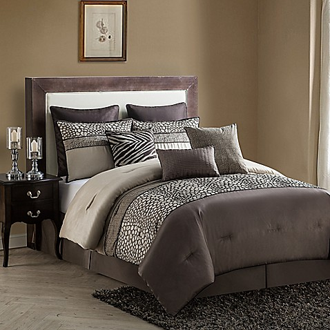 Buy vcny mali 9 piece california king comforter set in - Bed bath and beyond bedroom furniture ...