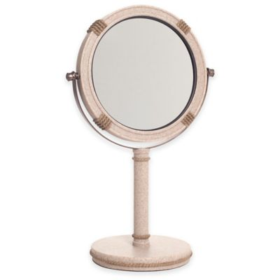 India Ink™ Coastal Trellis Vanity Mirror