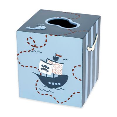 Bambini Pirates Boutique Tissue Box Cover