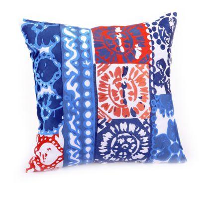 Trina Turk® Costa Mesa Medallion Square Throw Pillow in Indigo