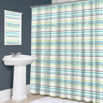 Aqua Color Curtains
