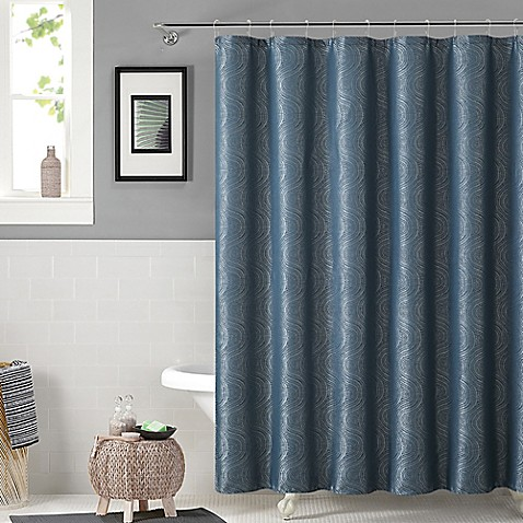 Buy Solace Shower Curtain And Hook Set In Teal From Bed