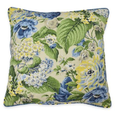 Flourish Square Throw Pillow