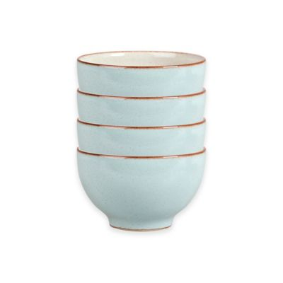 Denby Pavilion Small Bowls in Blue (Set of 4)